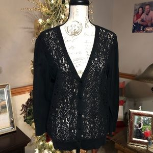 ❤️Lace Front Cardigan